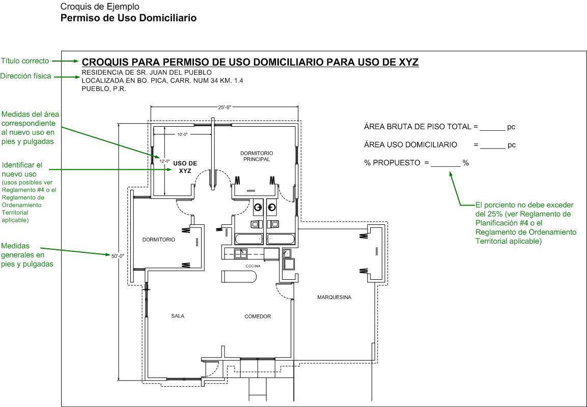Tu casa como oficina uso domiciliario negocios oficinas - Como hacer un plano de una casa ...